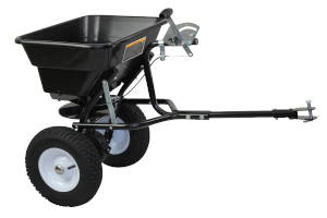 Tow Behind Broadcast Spreader 36kg 80LB Seed Fertiliser