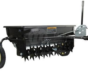 Tow Behind Combination Aerator Seed Spreader